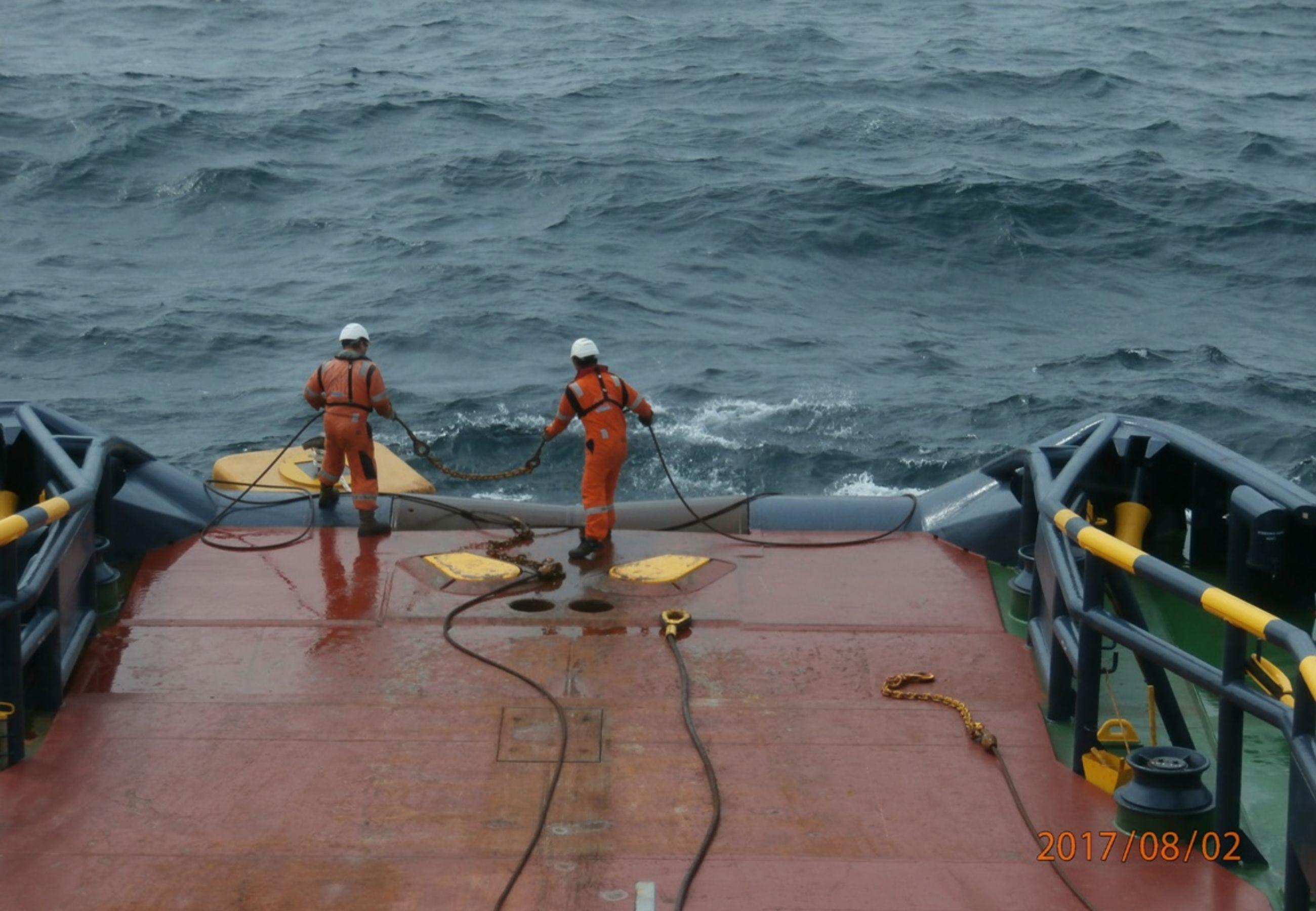 Alp Ace Seafox 4 1Working With Buoy Catcher