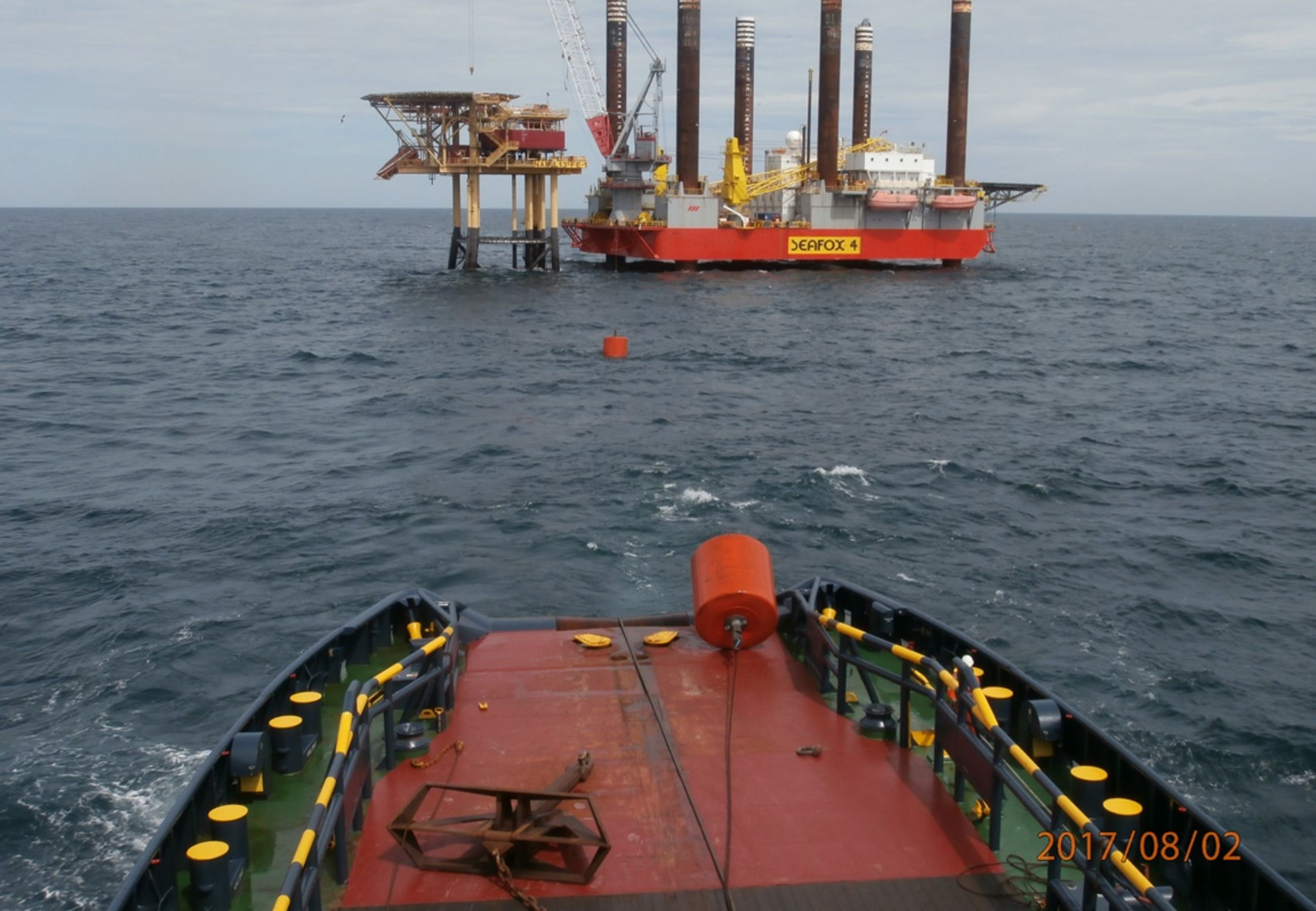 Alp Ace Seafox 4 3First Midline Buoy Is Recovered