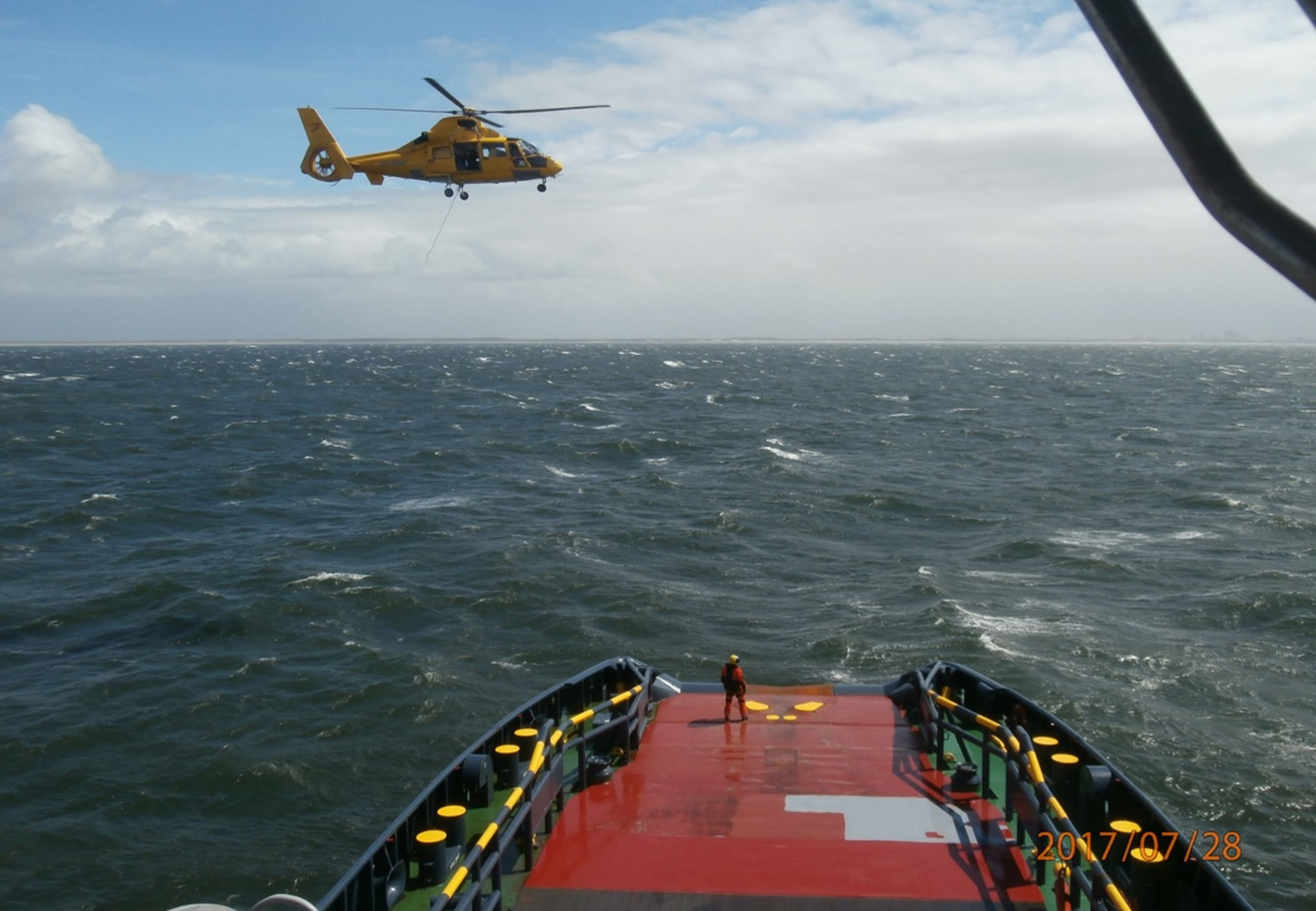 Alp Ace Seafox 4 3Helicopter Comes Back To Lift Safeguard