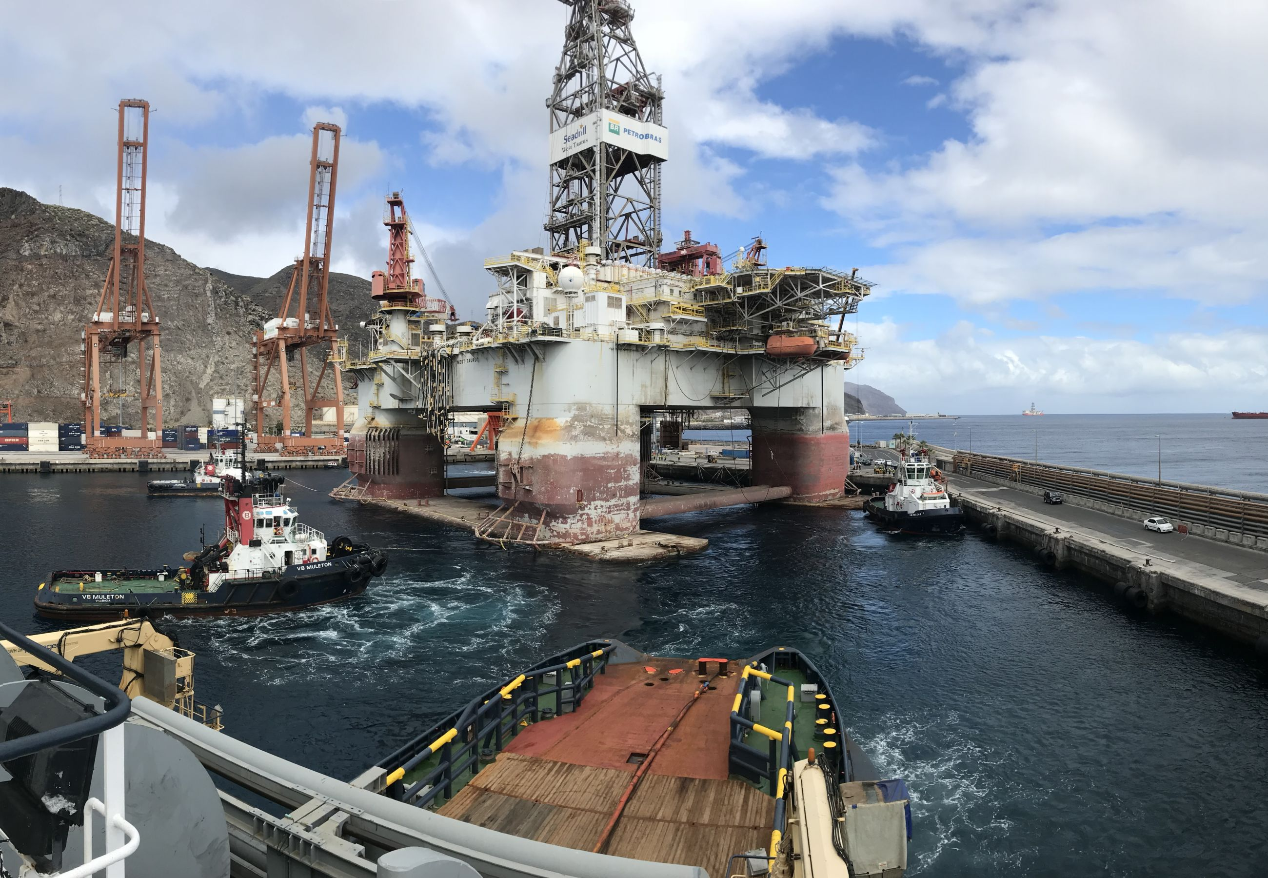 Alp Centre West Taurus Seadrill Rigmove Ssdr Canary Islands