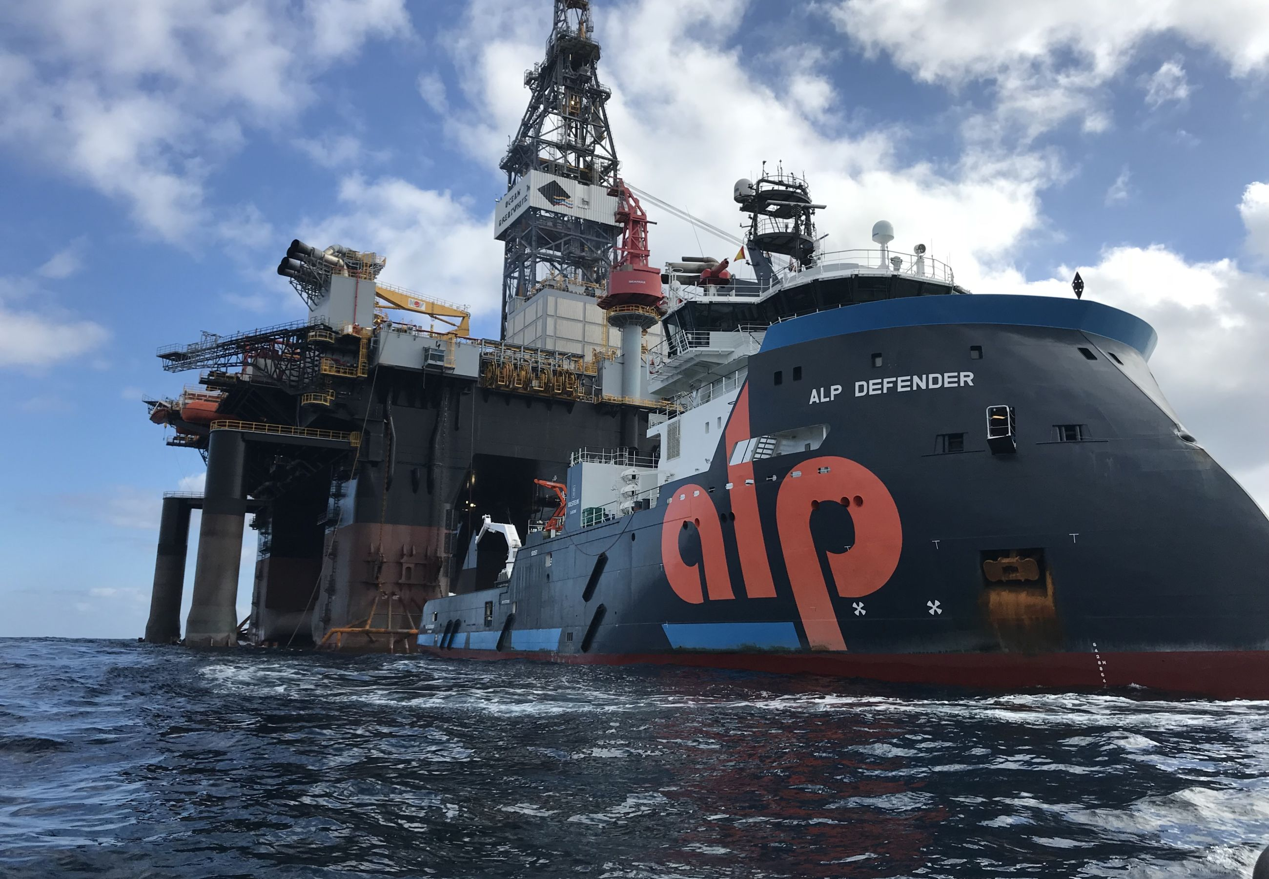 Alp Defender Ocean Great White Diamond Largest Rig