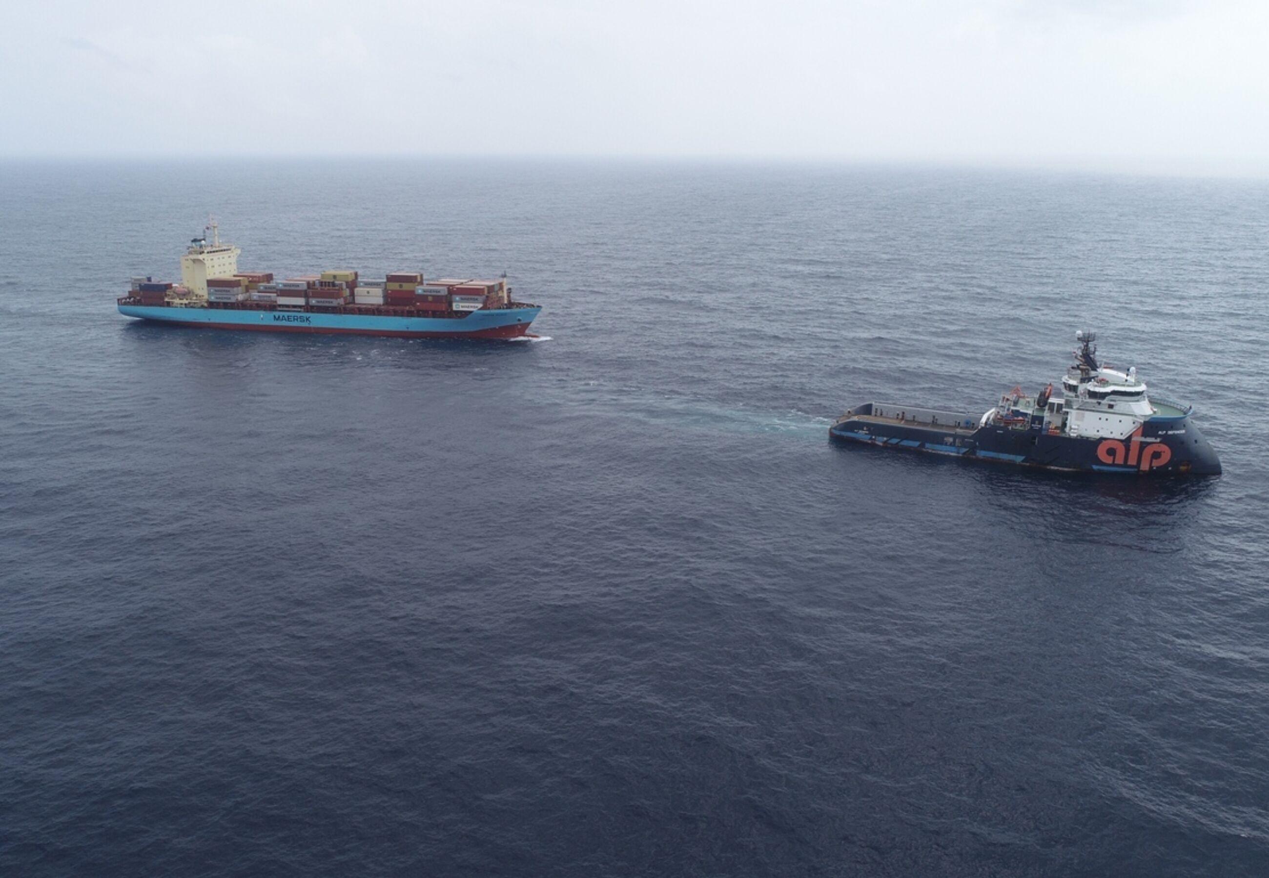 ALP Defender Maersk Vilnius Final Approach