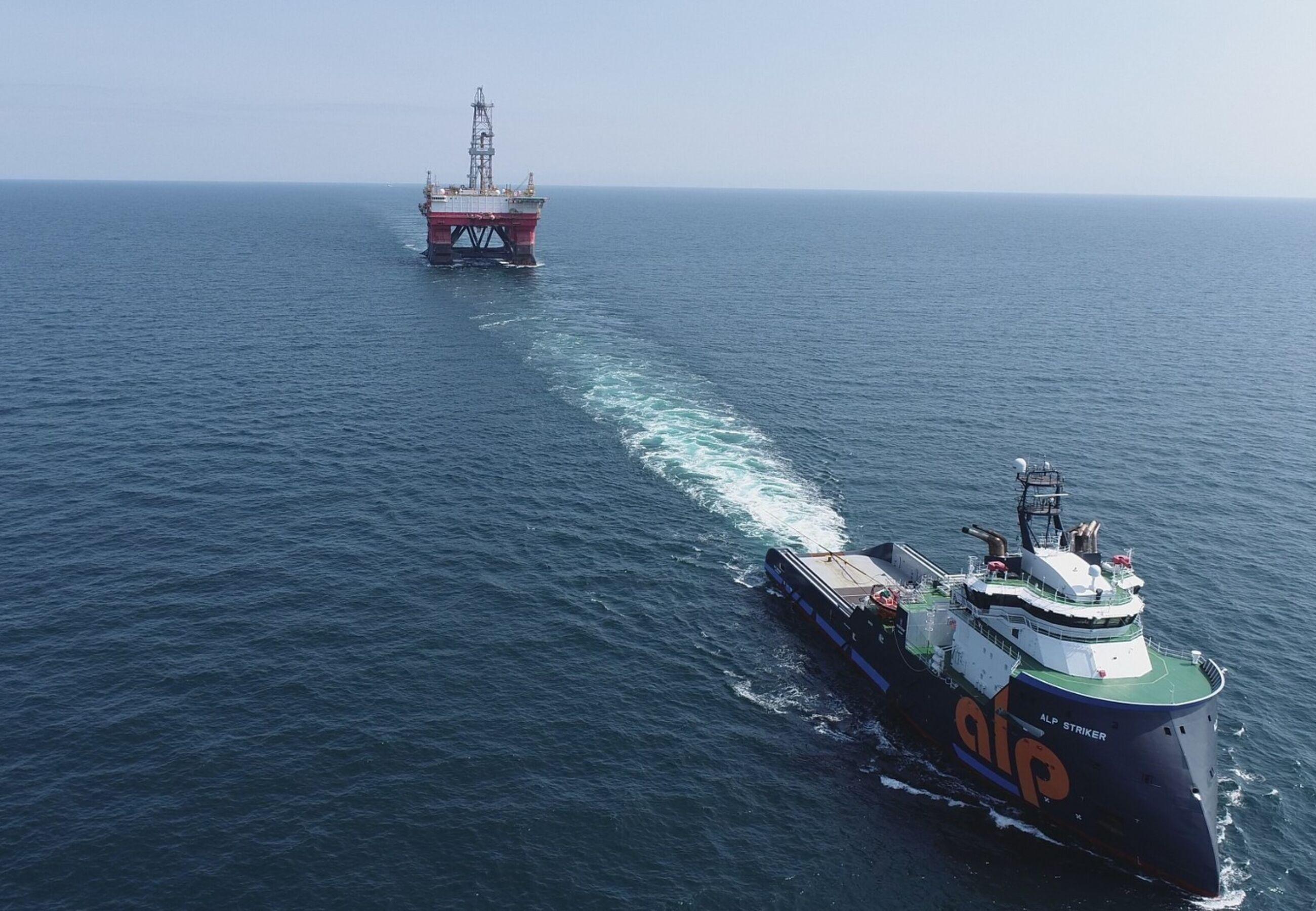 ALP Striker towing West Pegasus Sept2021 4