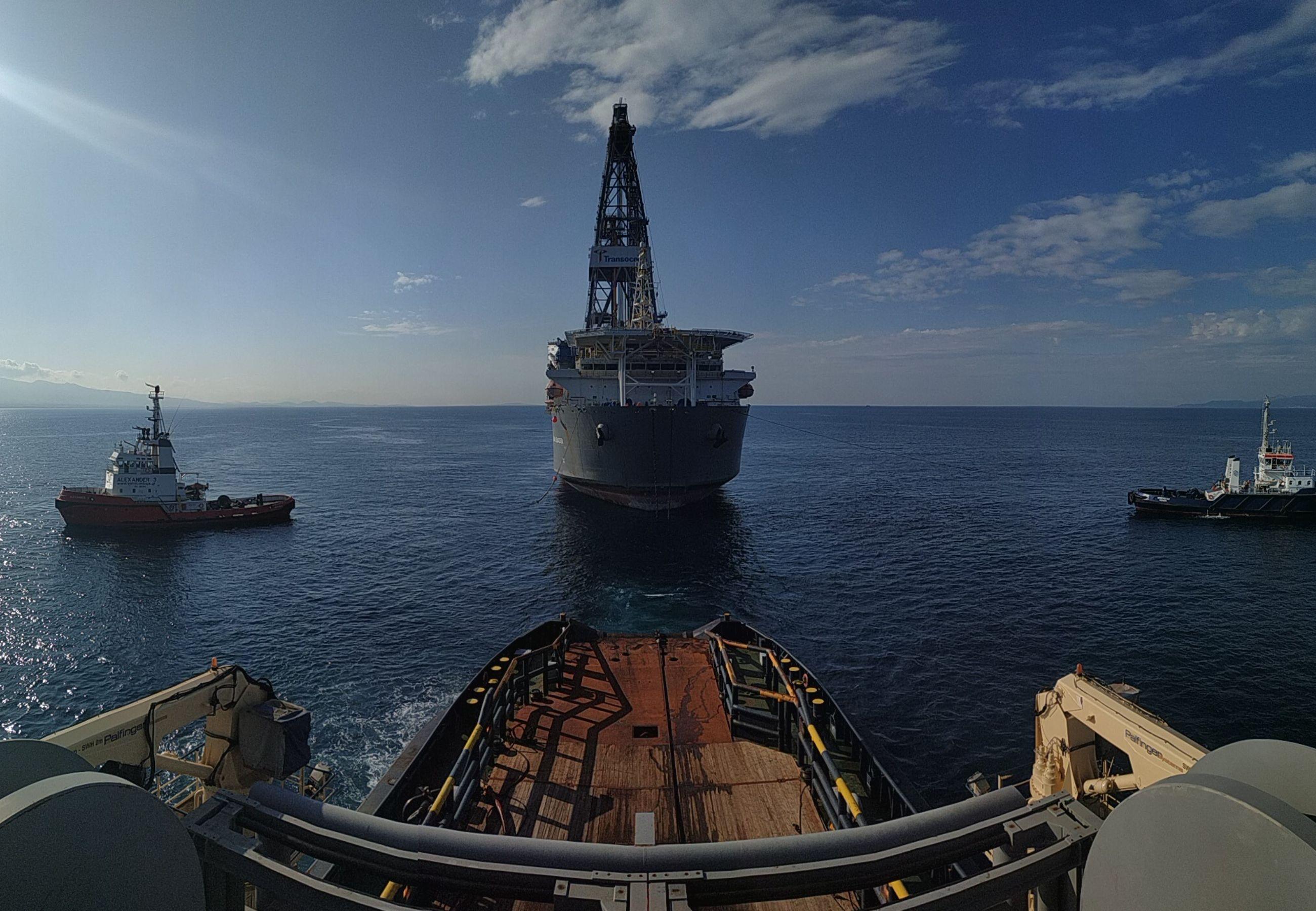 ALP Centre Drillship Clear Leader towage MAR2019 2
