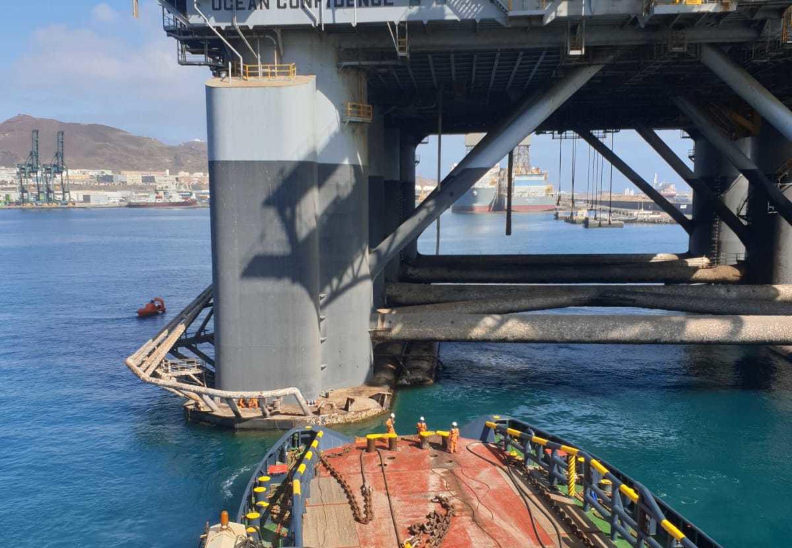 ALP Guard towing SSDR Ocean Confidence4