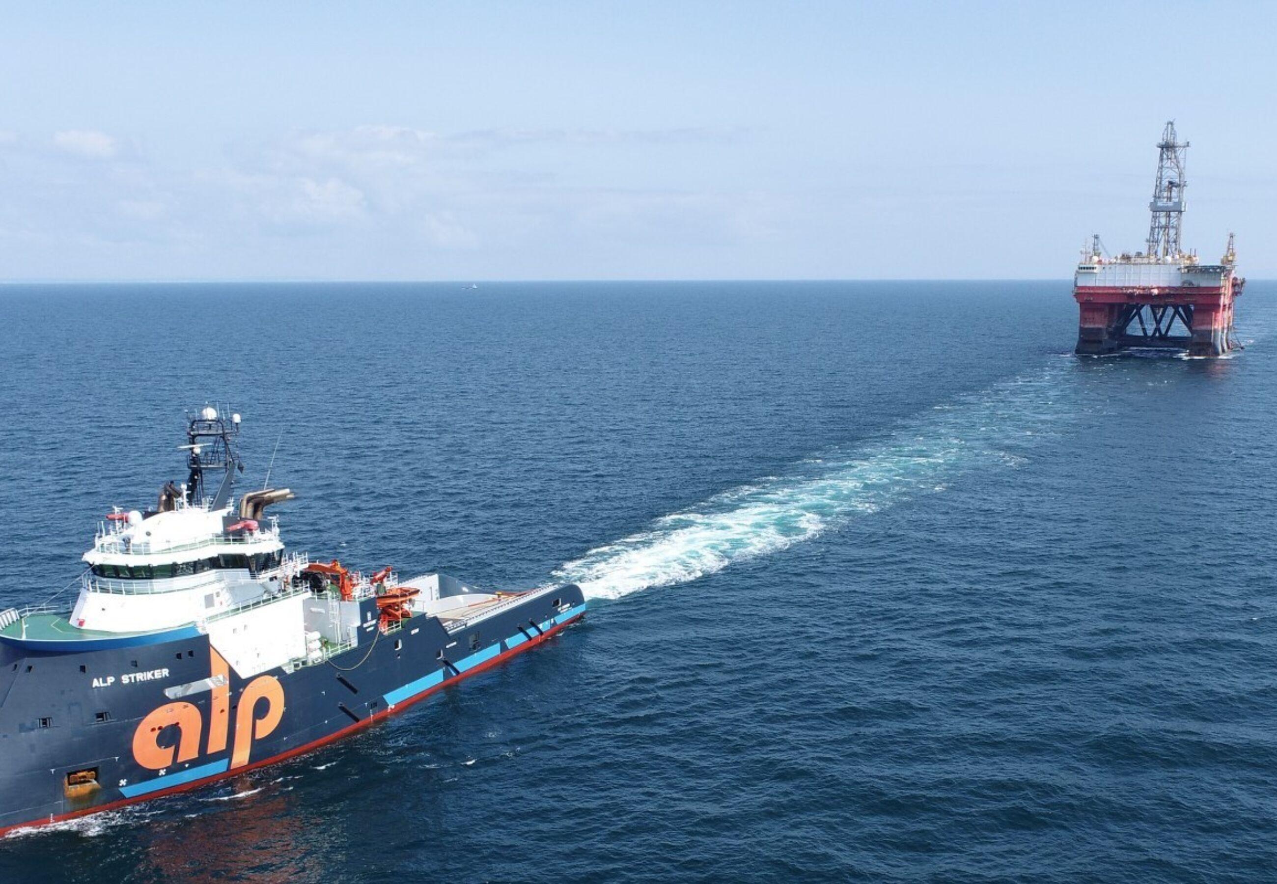 ALP Striker towing West Pegasus Sept2021 2