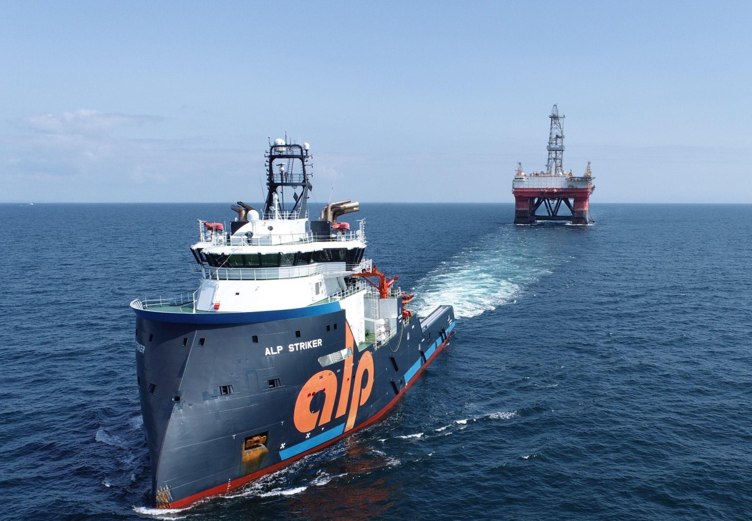 ALP Striker towing West Pegasus Sept2021