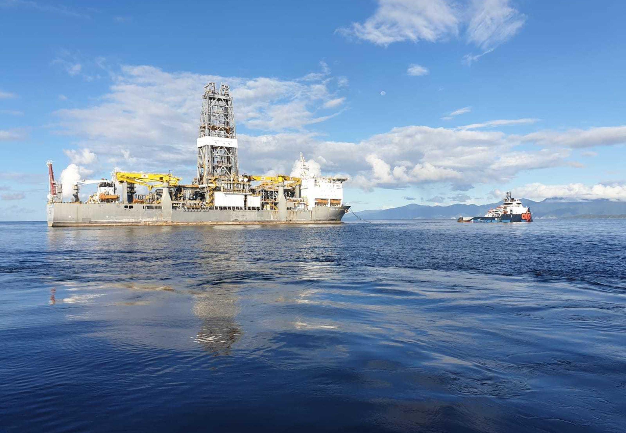 ALP Striker Deepwater Champion drillship towage NOV2019