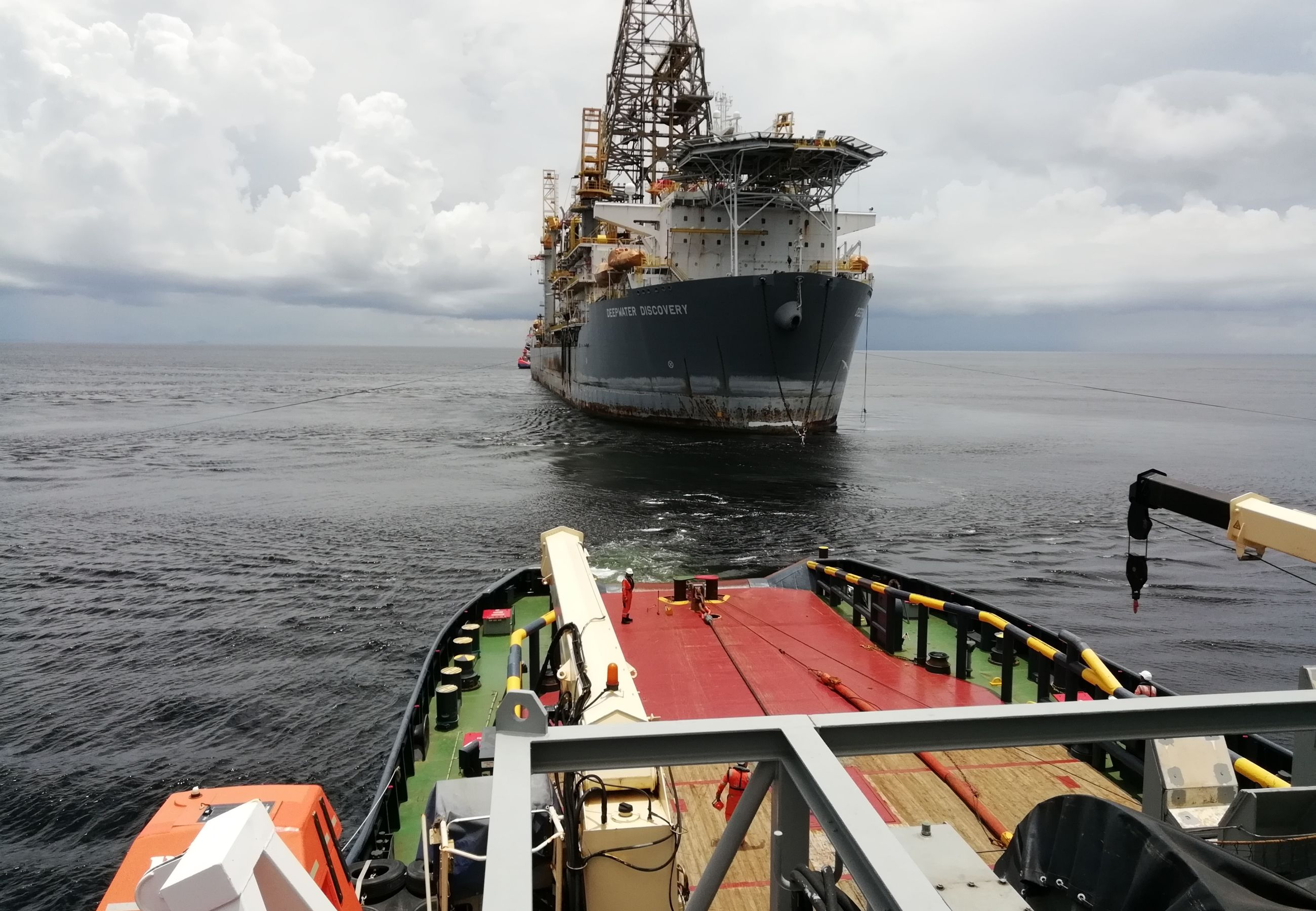 Alp Winger Deepwater Discovery Drillship Transocean Connection 4